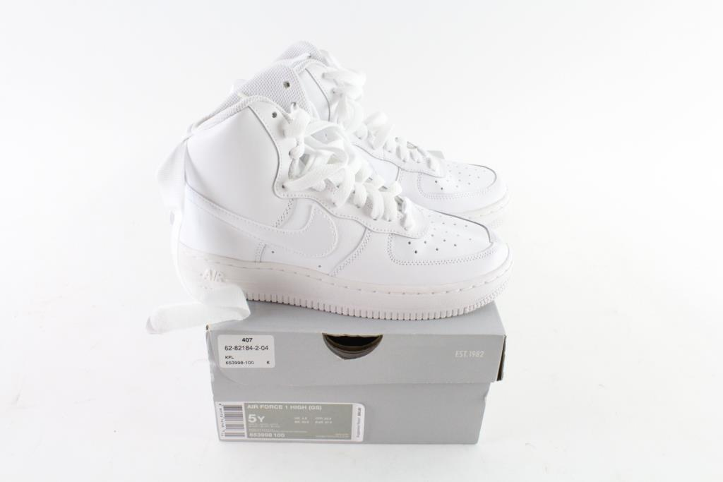 Nike Air Force 1 Youth Shoes, Size 5Y