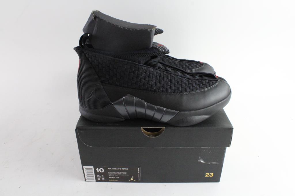 Nike Air Jordan 15 Retro Mens Shoes, Size 10   Property Room