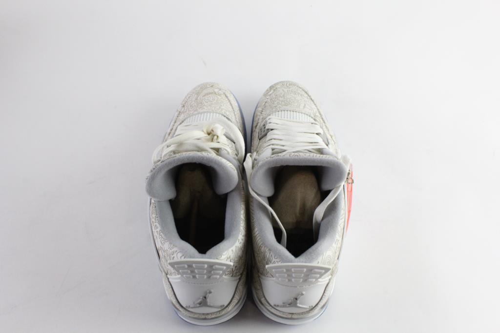 2e5f121cd774 Nike Air Jordan 4 Retro Laser Mens Shoes