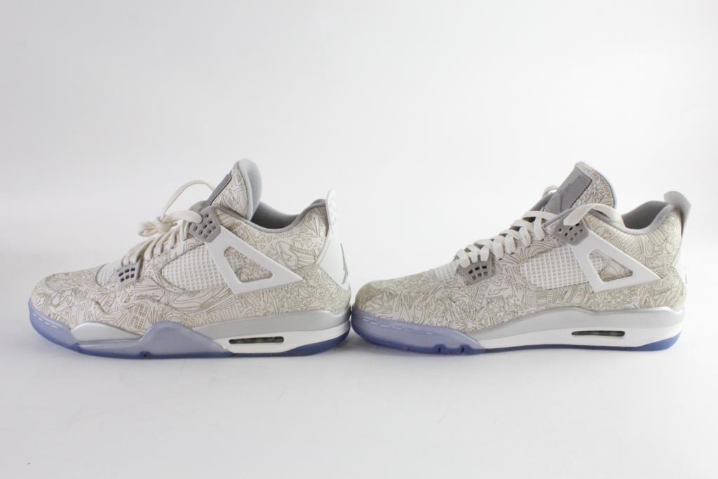 0fd5231a494a Image 1 of 9. Nike Air Jordan 4 Retro Laser Mens Shoes