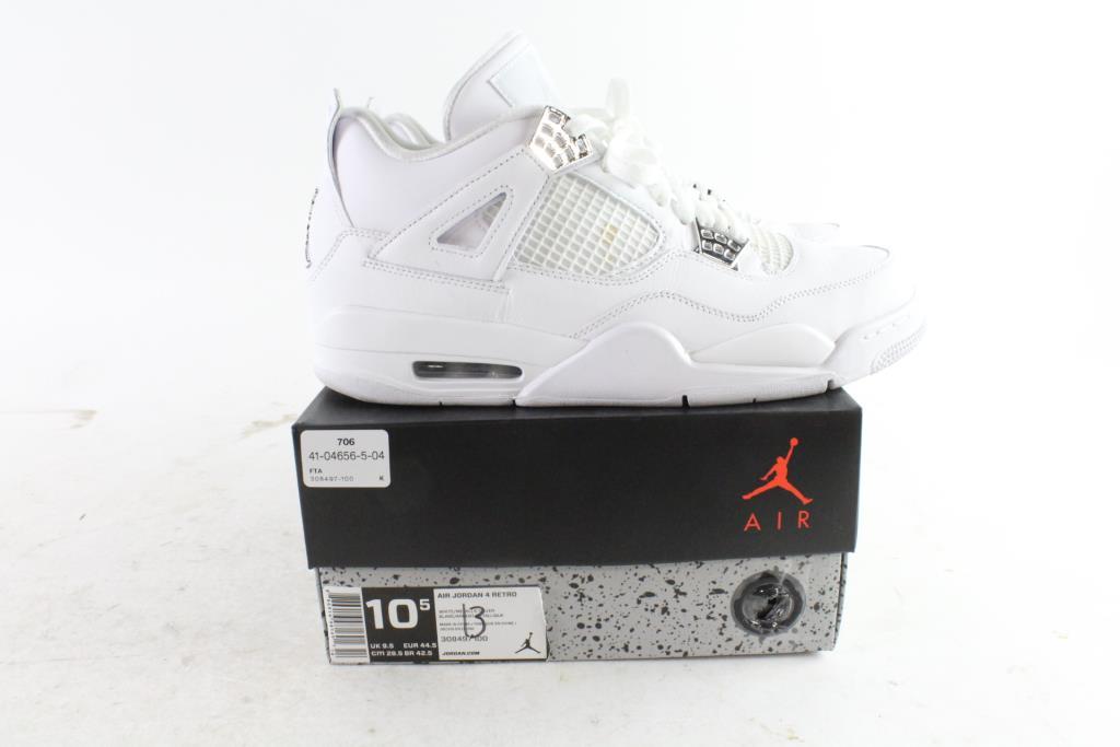 7fab2b37077bf0 Nike Air Jordan 4 Retro Men s Shoes