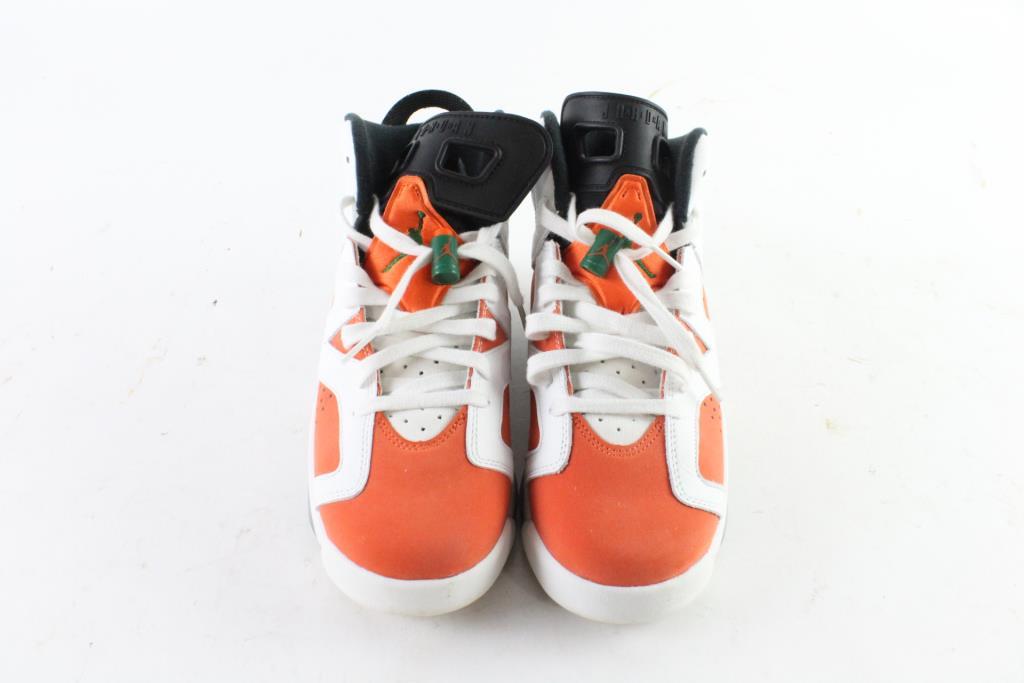 watch a2c4a 5b1b9 Nike Air Jordan 6 Retro BG Kids Shoes, Size 6.5Y