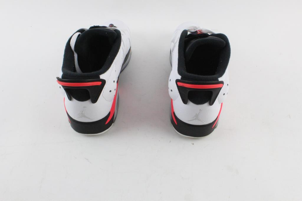 Nike Air Jordan 6 Retro Low Shoes Infrared White Mens