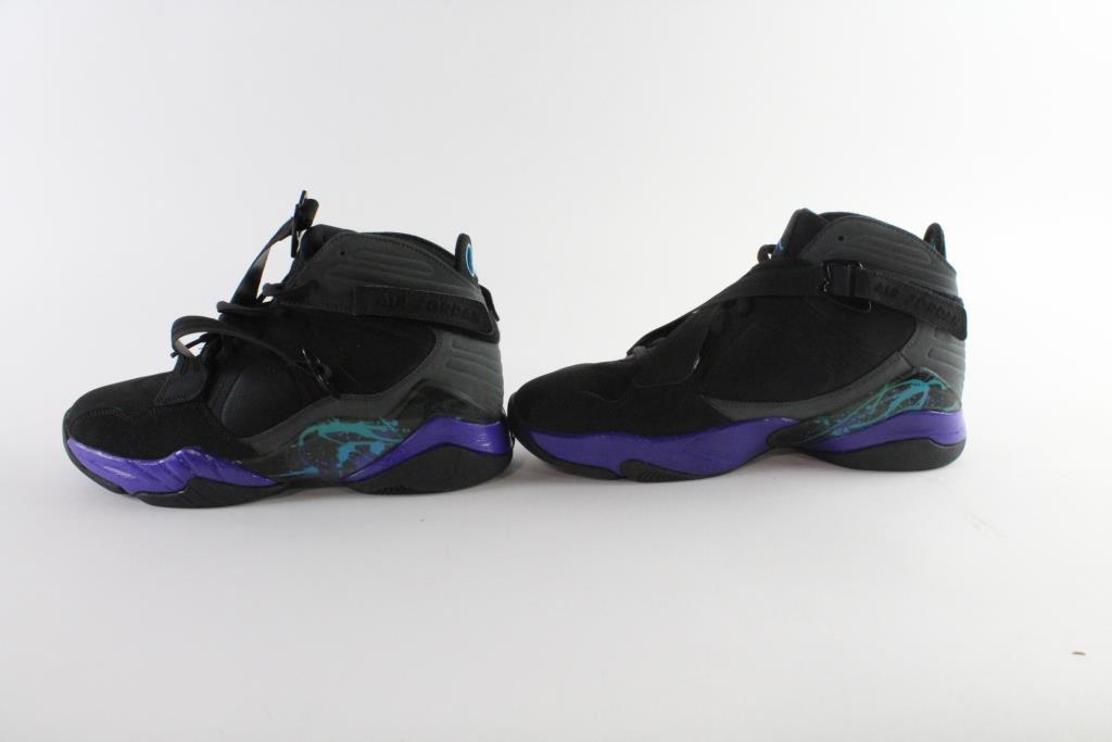 8f0c11e5f91 Nike Air Jordan 8.0 Aqua, Size 9 | Property Room