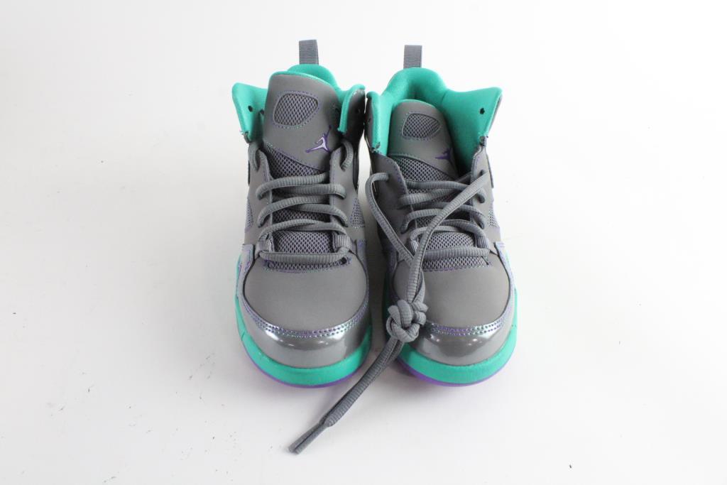 Nike Air Jordan Flight Club 91 Girls Shoes, Size 1Y ...