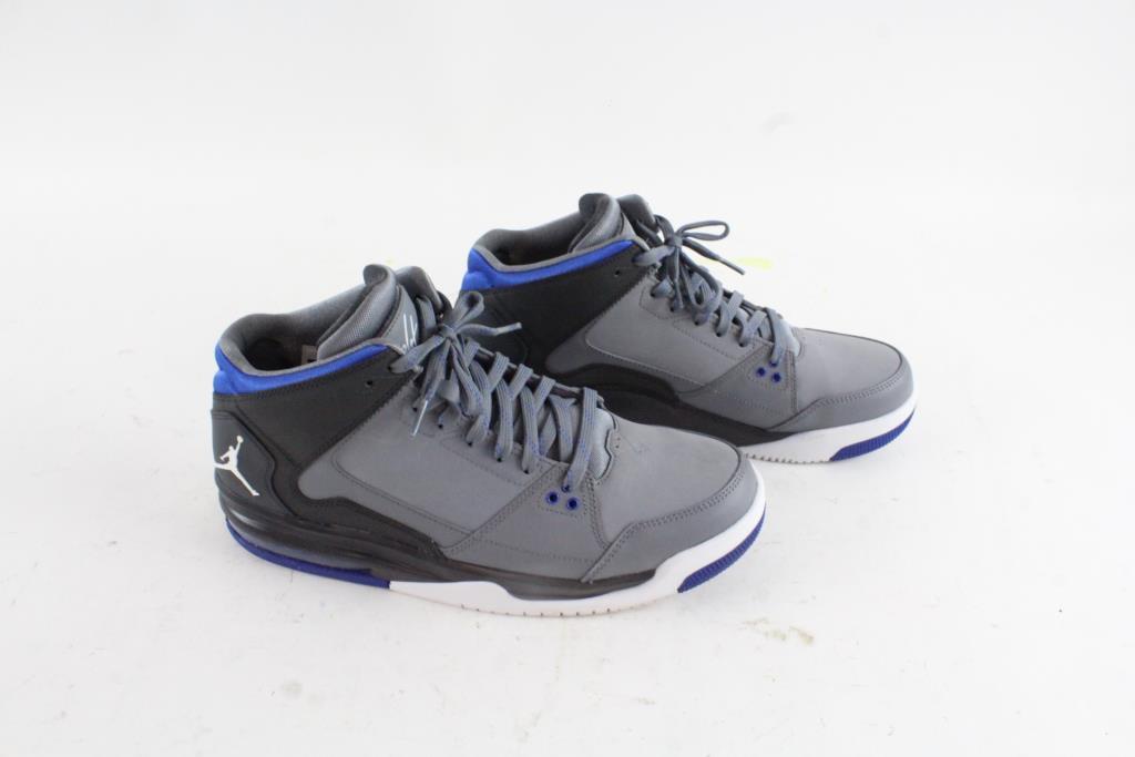Nike Air Jordan Flight Origin Basketball Shoes Grey Mens Size 12