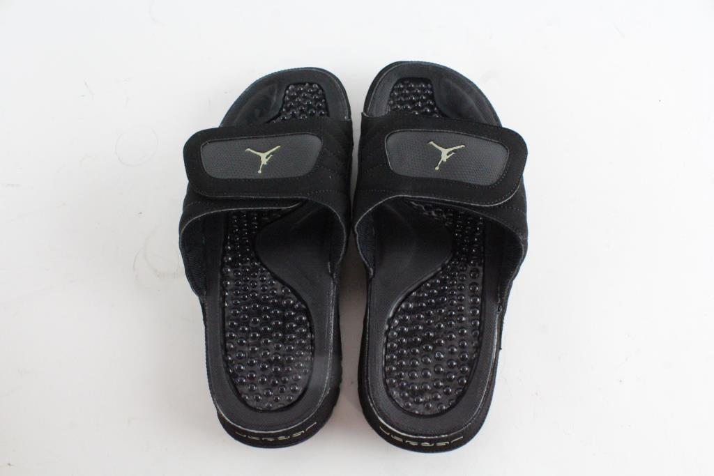 11ac680b3a9 Nike Air Jordan Hydro XII Retro Master Men's Sandals Black, Size 8 ...