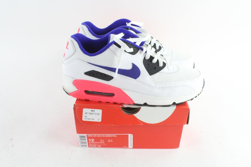 Nike Air Max 90 Essential Mens Shoes, Size 12 | Property Room