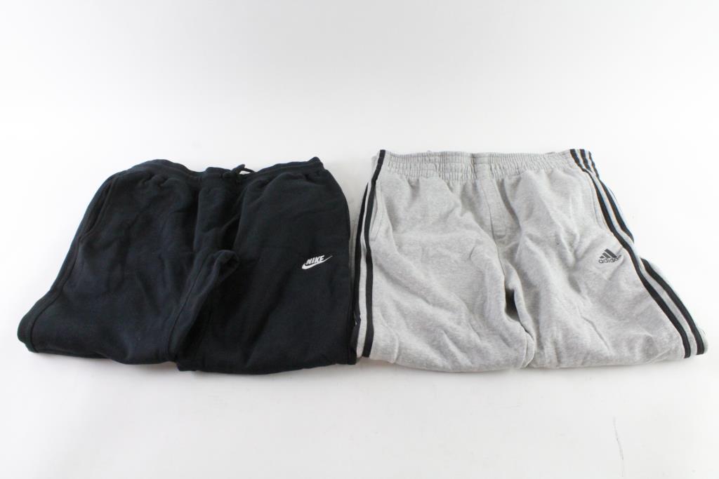 0742c2f0ebec Nike And Adidas Sweatpants
