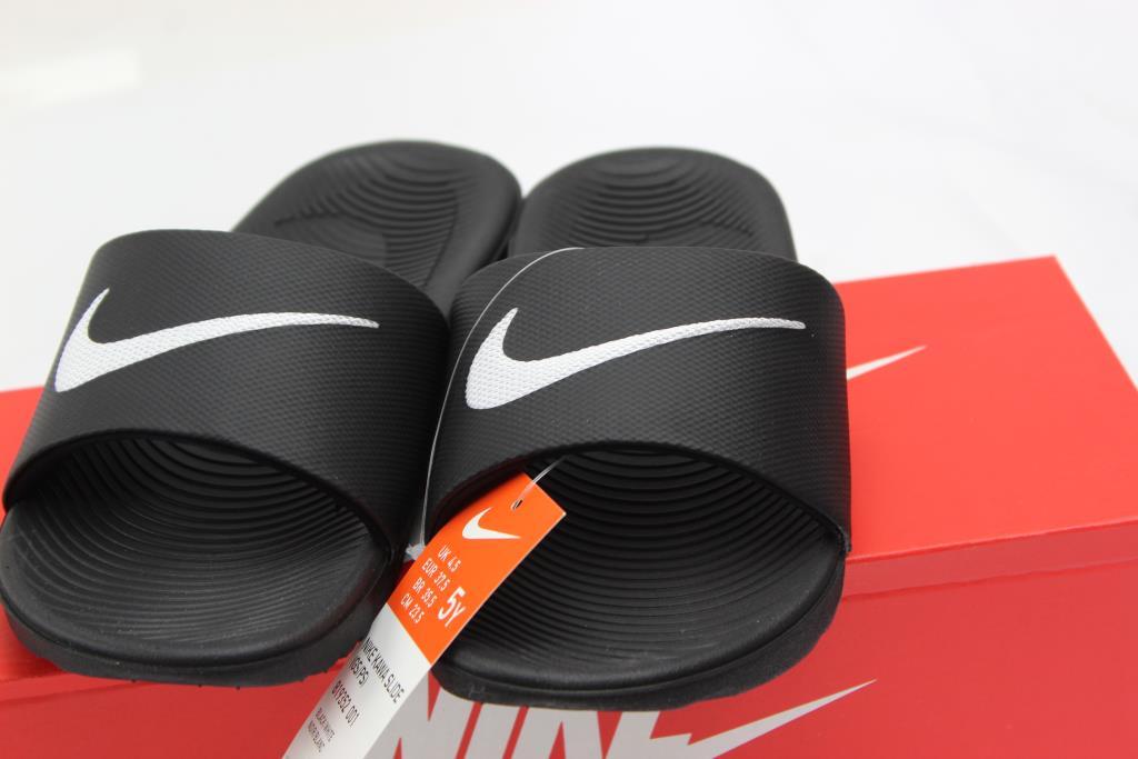 52b6ba6ef9be4 Nike Boys Kawa Slide Sandals