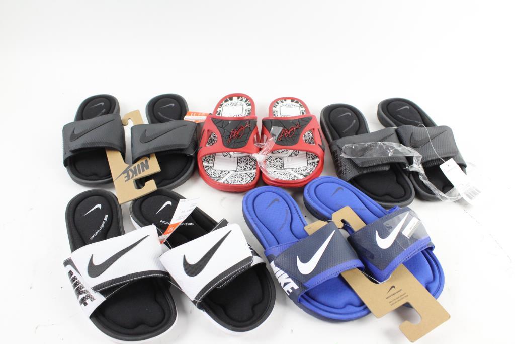 Campaña Círculo de rodamiento Inevitable  Nike Comfort Footbed Sandals | Property Room