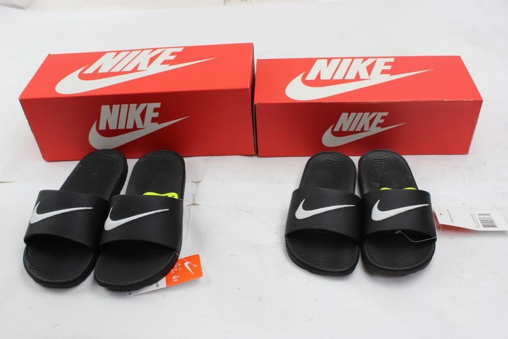 d079288dfa01f Image 1 of 3. Nike Kawa Kids Slides