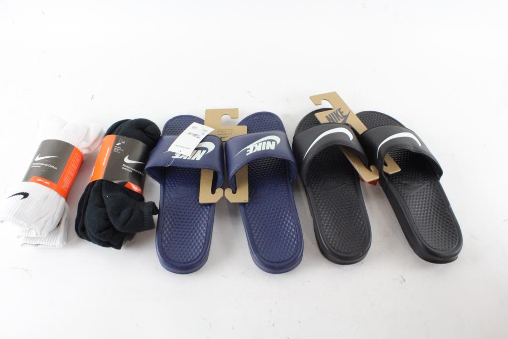 f3dff980ff73 Image 1 of 2. Nike Mens Sandals