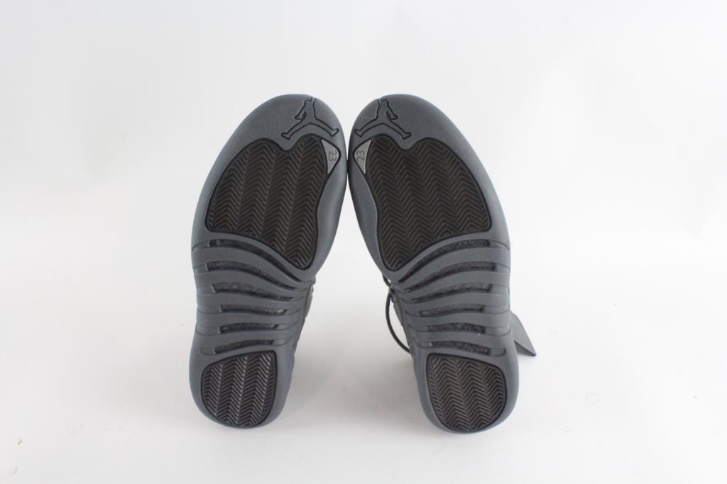 59c986d2c4f Nike PSNY Public School x Air Jordan 12 Retro Shoes, Dark Grey Black, Mens  Size 10