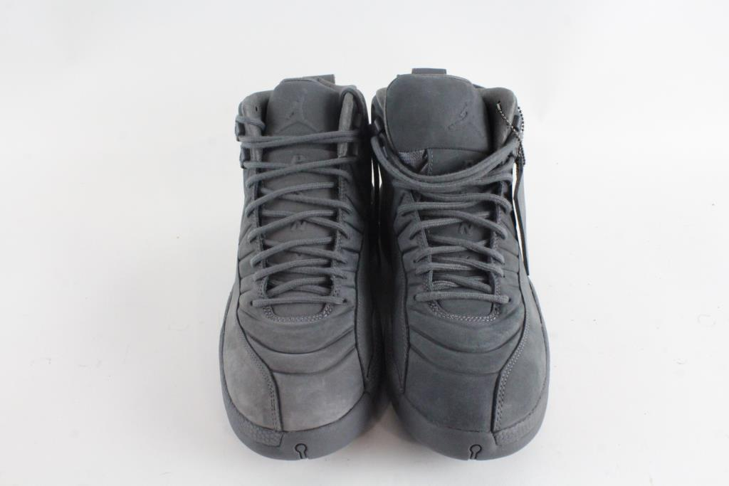 fd3583773dc ... spain nike psny public school x air jordan 12 retro shoes dark grey  black mens size