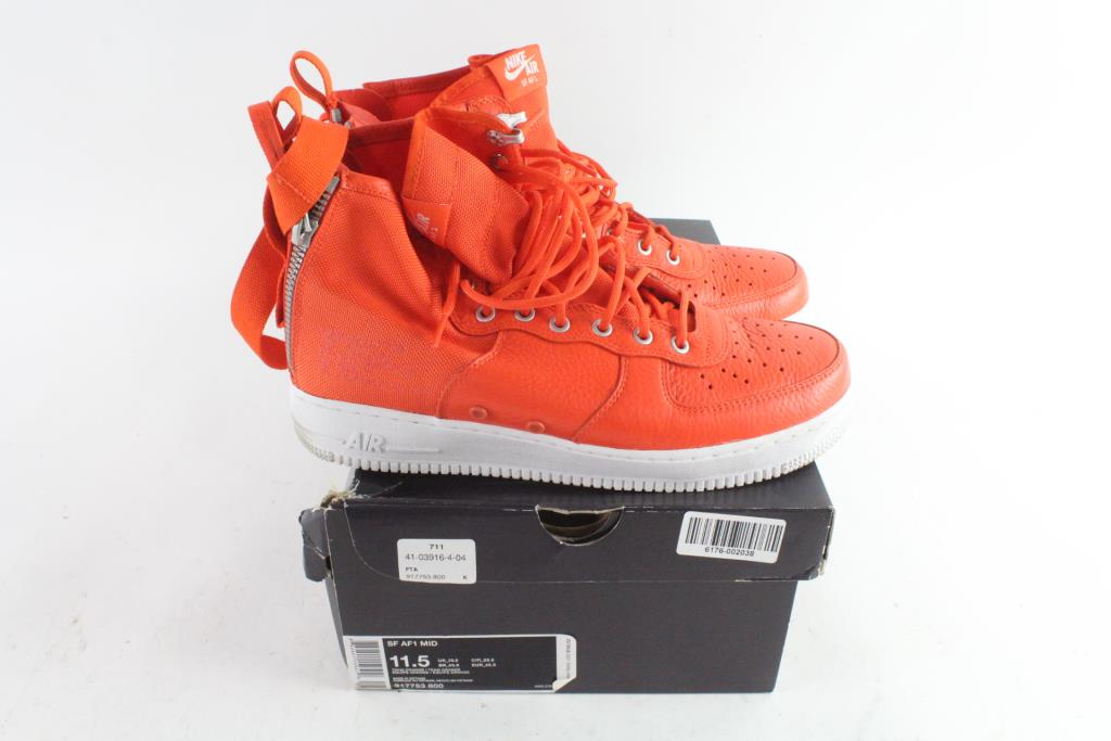 purchase cheap 59b97 4c17c Nike SF AF1 Mid Mens Shoes, Size 11.5 | Property Room