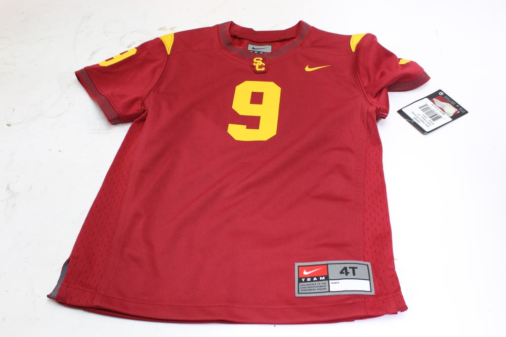 watch 57abc 4dee9 Nike USC Jersey, Size 4t | Property Room