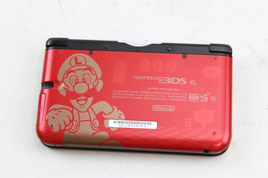 Nintendo 3ds Xl Super Mario Bros 2 Limited Edition Mario Luigi