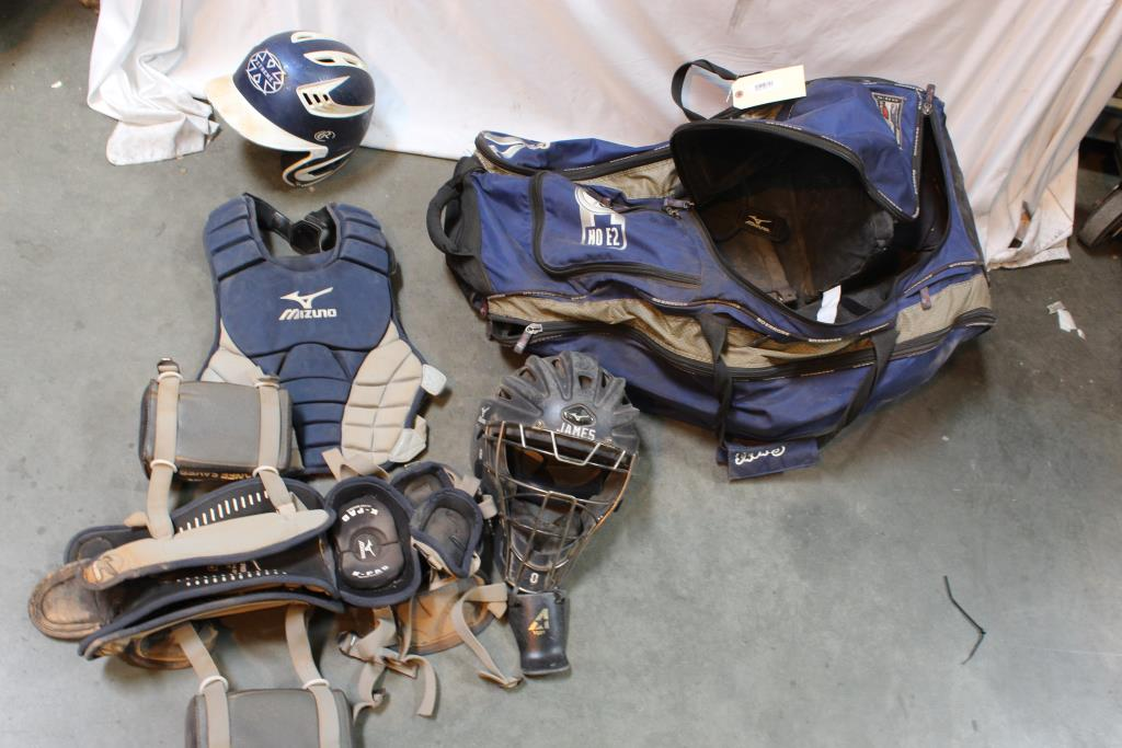 No Errors Duffle Bag Mizuno Catcher Equipment And More Property Room