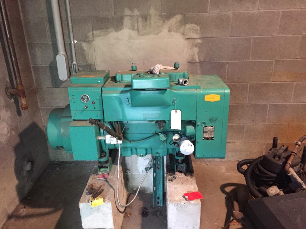 No Shipping** Onan Generator 12 5JC-L30634B (Falmouth, MA
