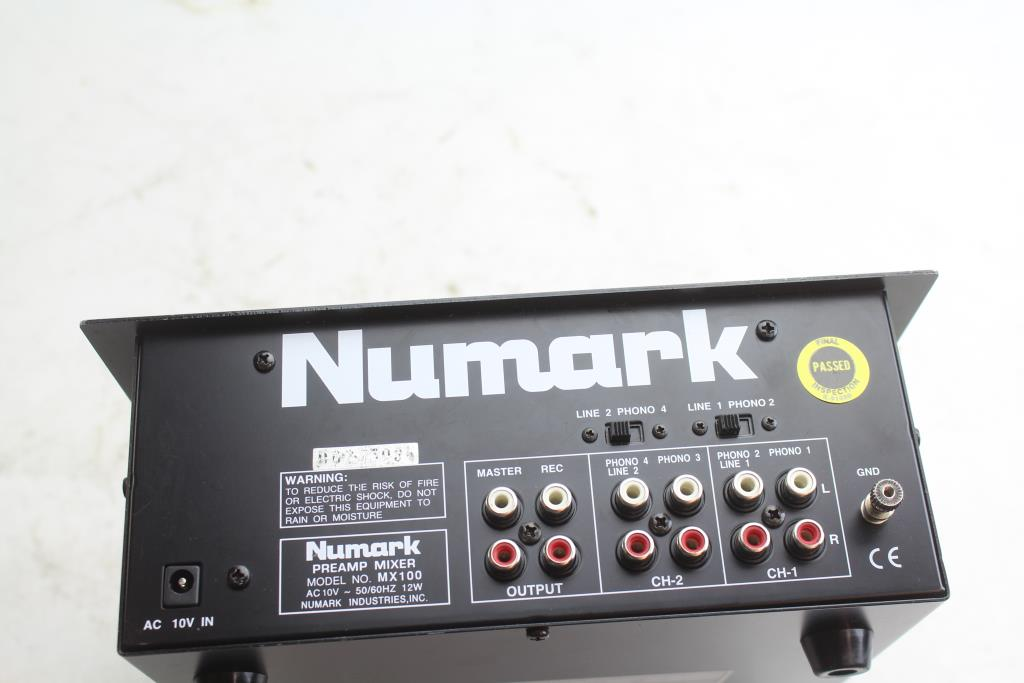Numark M6 USB 4-Channel DJ Mixer   Property Room