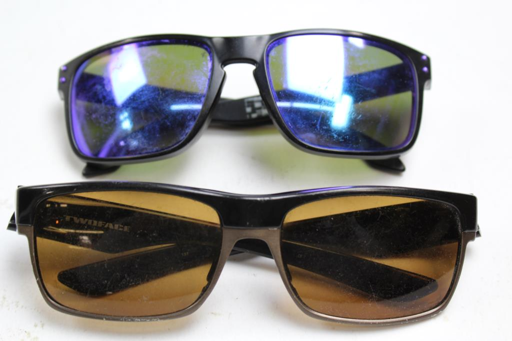 84f31f3815 Oakley Holbrook And Twoface Sunglasses  2 Items