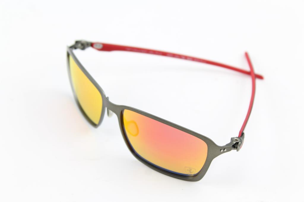 97c9d0afe2 Oakley Tincan Carbon Scuderia Ferrari Collection Sunglasses ...