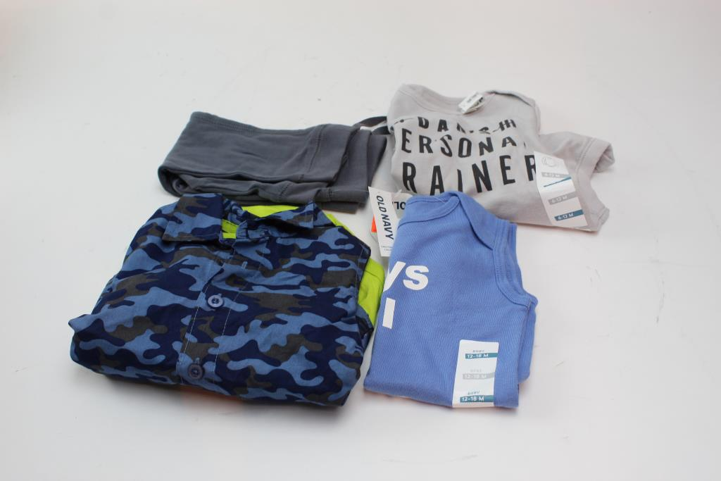 old navy and small wonders baby boy clothing 4 pieces property room