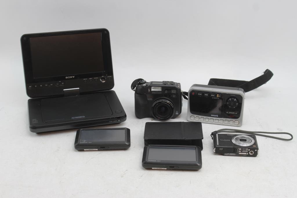 Olympus Camedia C-7070 Digital Camera, Sony Portable DVD