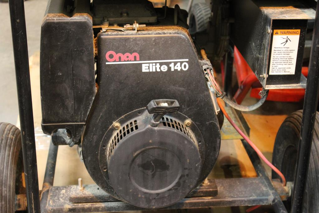 Onan Pro 5000e Gas Powered Generator Property Room