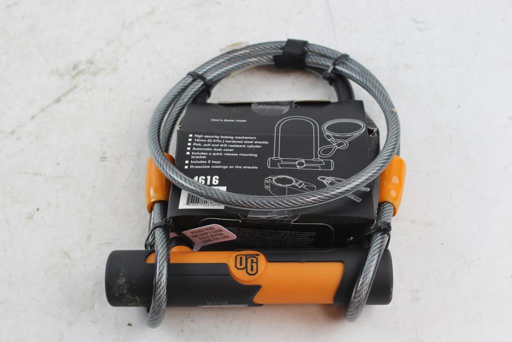 Onguard Og U-Bike Lock 106mm x 200mm New