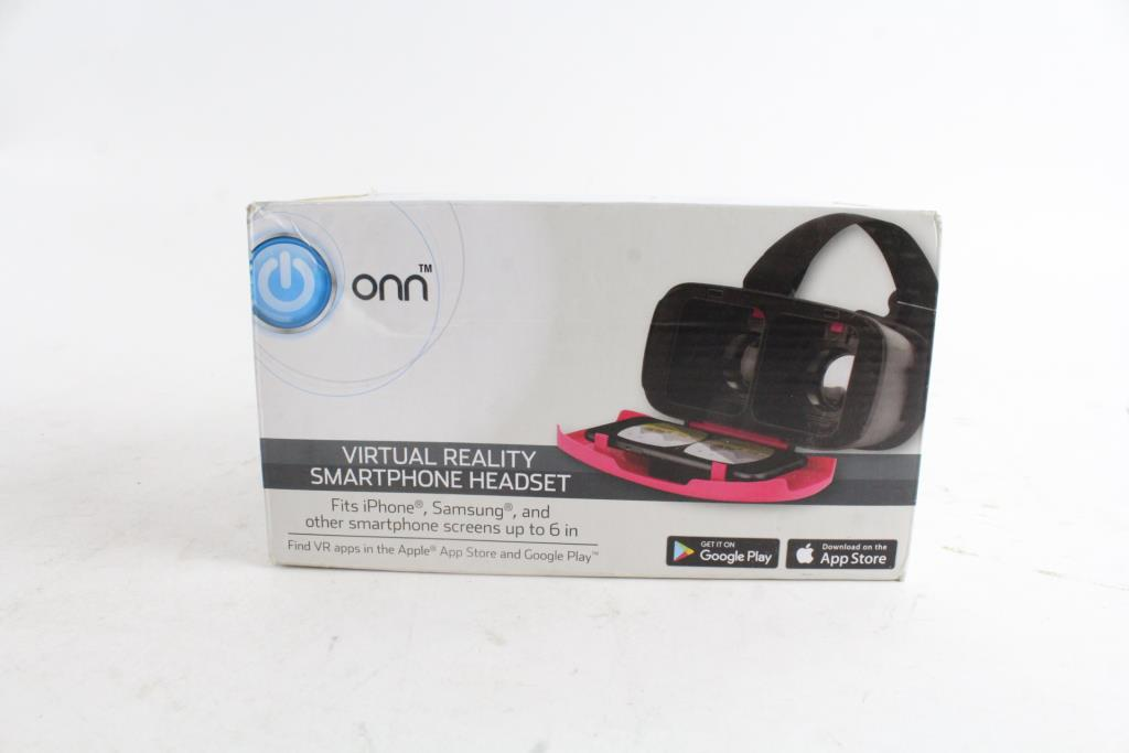 Onn Virtual Reality Smartphone Headset Property Room