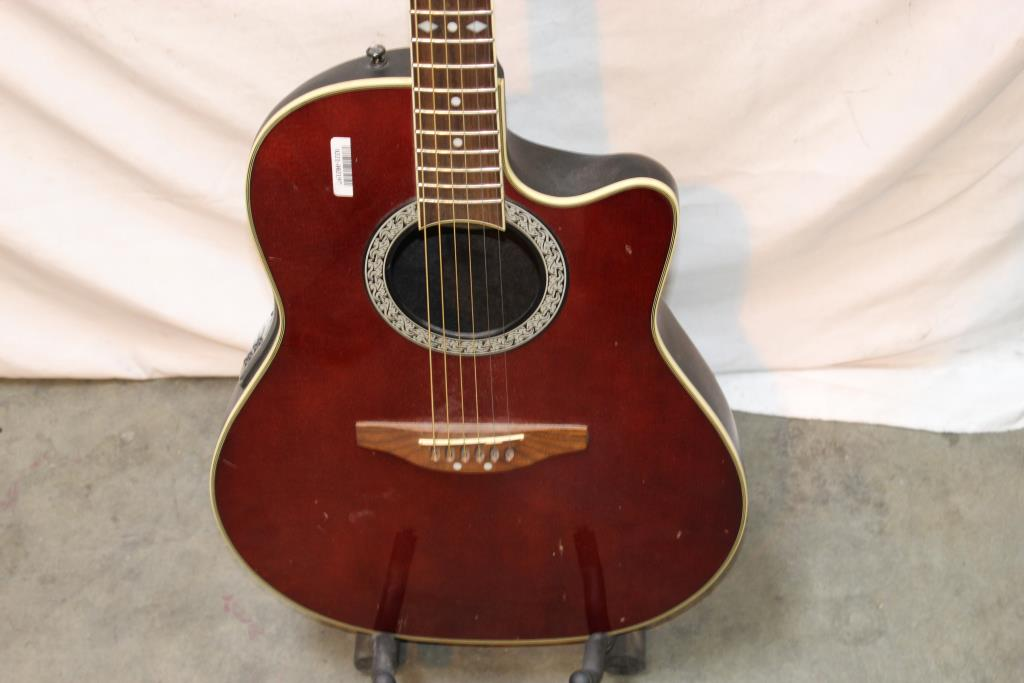 best dating ovation guitars by serial number