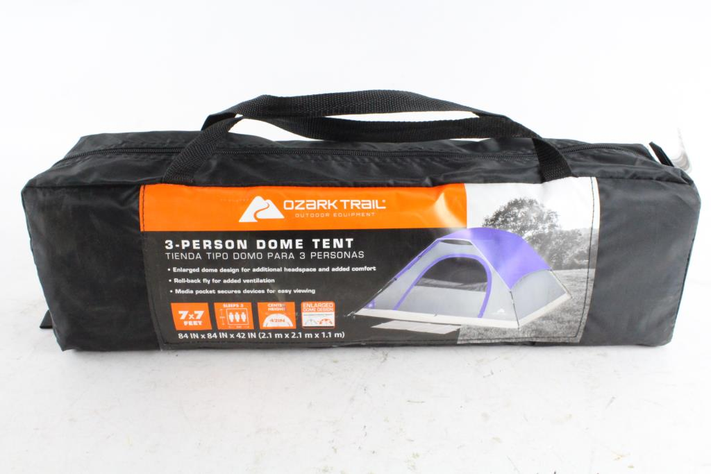 Ozark Trail 3-Person Dome Tent | Property Room