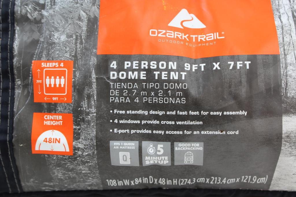 Ozark Trail 4 Person 9'x7' Dome Tent | Property Room