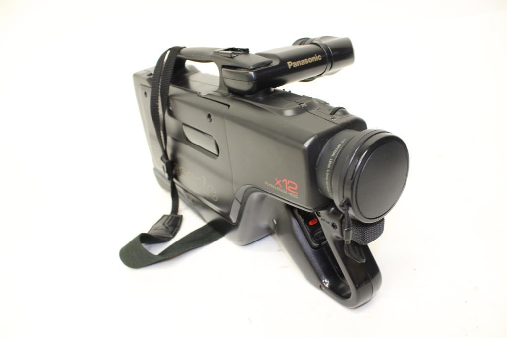 Panasonic Omnimovie Vhs Video Camera Property Room