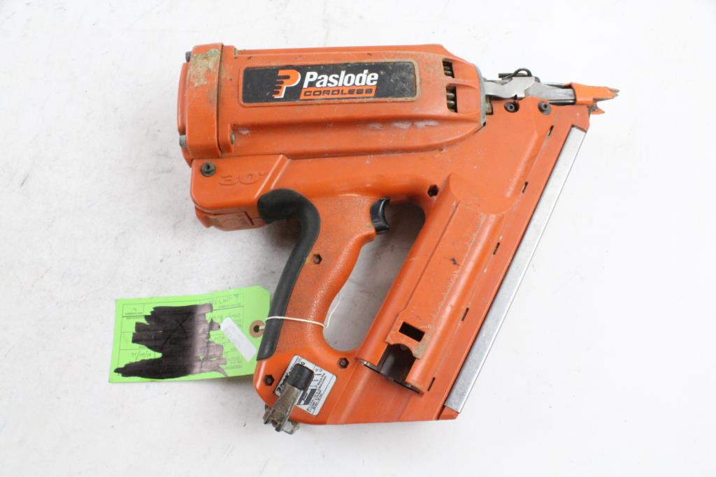 Paslode Cordless Framing Nailer Property Room
