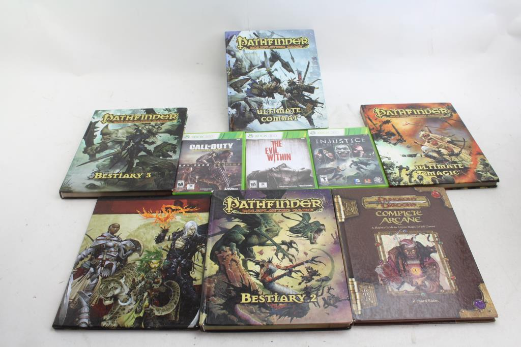 pathfinder rpg game books xbox 360 games dungeon and dragons rh propertyroom com brave xbox 360 game walkthrough saw xbox 360 game walkthrough
