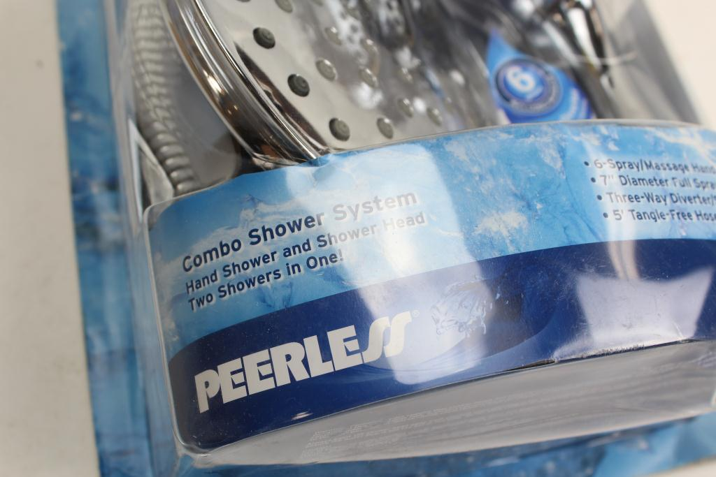 Peerless 2 In 1 Hand Shower And Shower Head Unit Combo