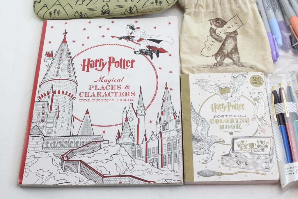 Pens Color Pencils Markers Harry Potter Coloring And More 40 Pieces