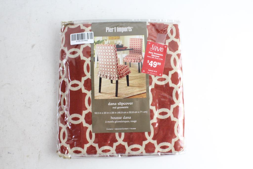 Image 1 Of 2 Pier Imports Dana Chair Slipcover