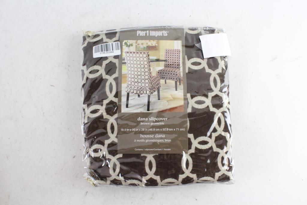 Charmant An Image Relevant To This Listing. Pier 1 Imports Dana Chair Slipcover
