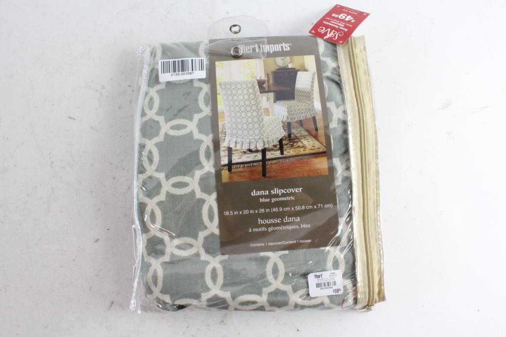 An Image Relevant To This Listing. Pier 1 Imports Dana Chair Slipcover