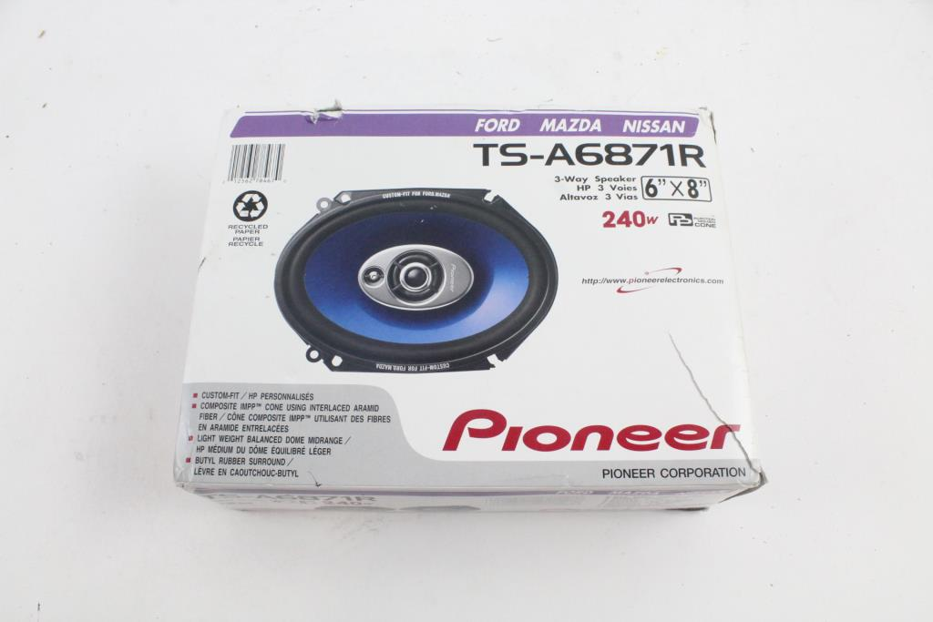 Superieur Pioneer Door Speakers