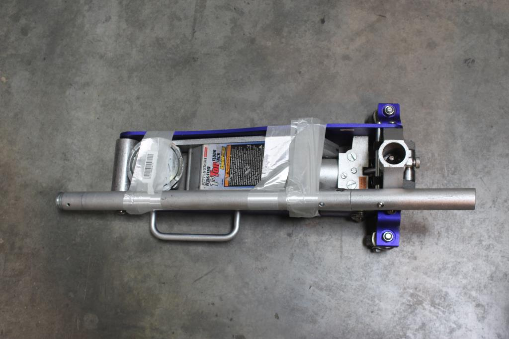 Pittsburgh Racing 1 5 Ton Rapidpump Automotive Floor Jack