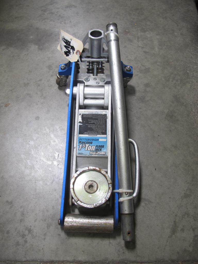Pittsburgh Racing Automotive 1 5 Ton Rapid Pump Floor Jack