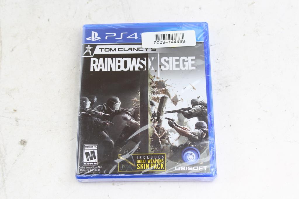 Playstation 4 Game: Tom Clancy's Rainbow Six: Siege