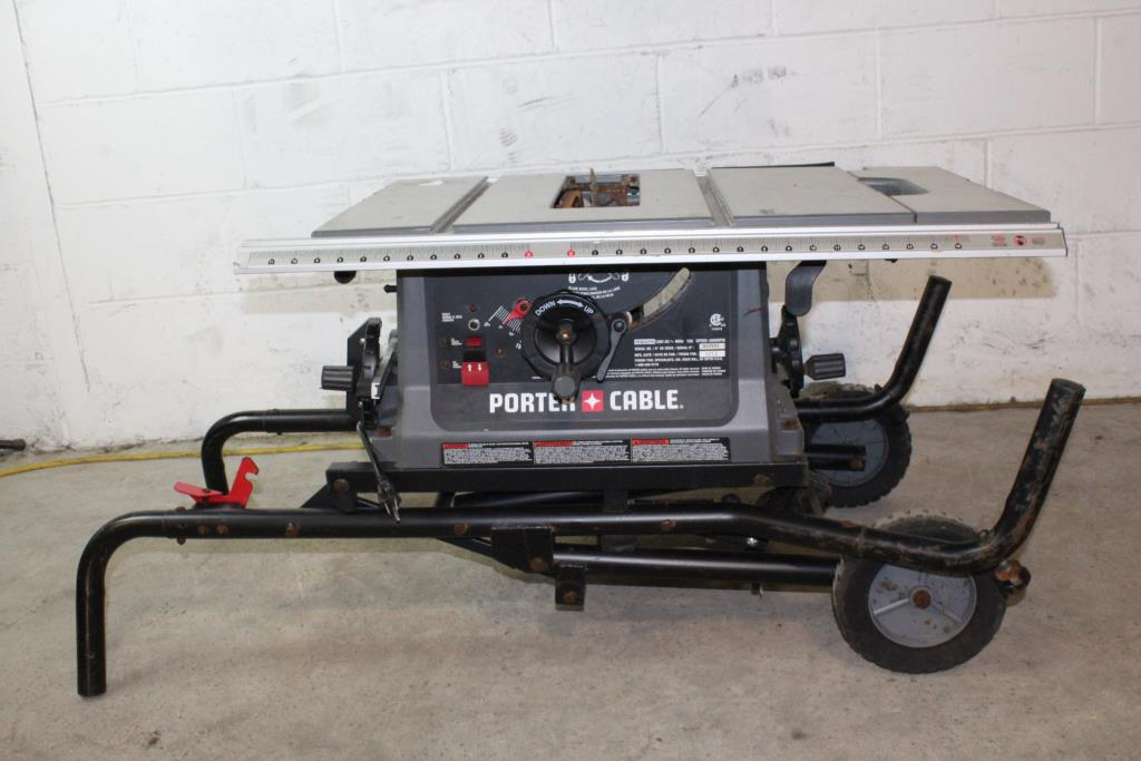 Porter cable table saw property room porter cable table saw greentooth Image collections