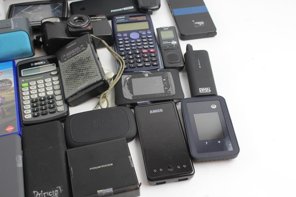 Power Banks, Calculators, Wifi Hotspots, TomTom Gps And More