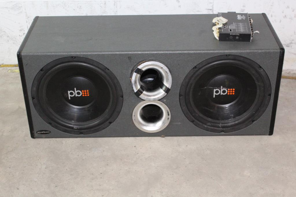 Powerbass Subwoofer | Property Room